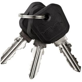 Hiplok Lite Chain Lock black/pink